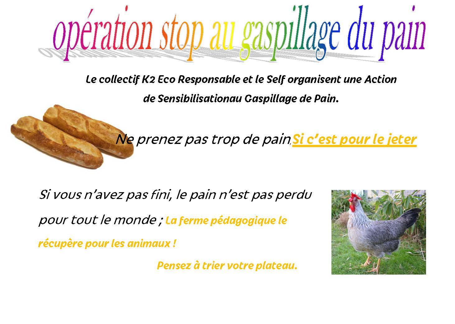 stop gaspillage